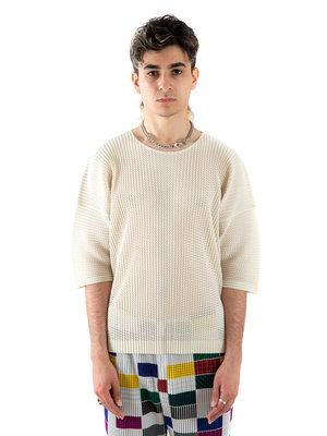 HOMME PLISSÉ ISSEY MIYAKE Outer Mesh T-shirt