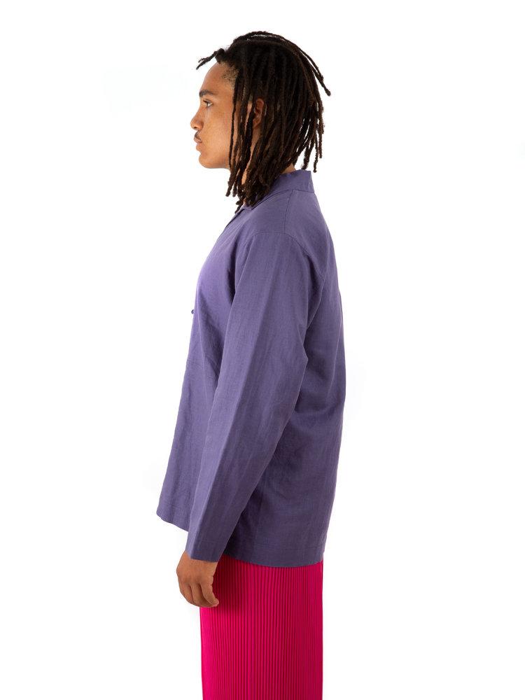 HOMME PLISSÉ ISSEY MIYAKE Cotton Linen Shirt