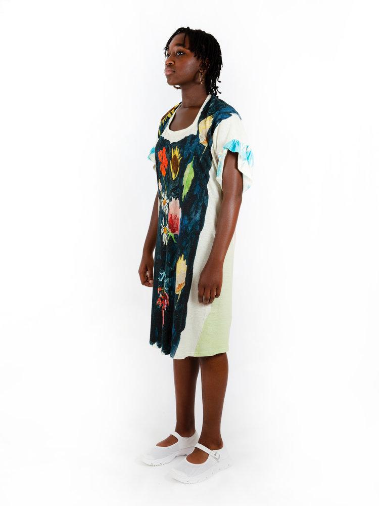 ANNTIAN Open Front Dress