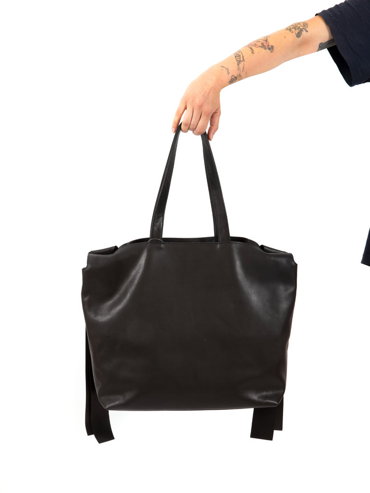 Yohji Yamamoto Ribbon Tote Bag