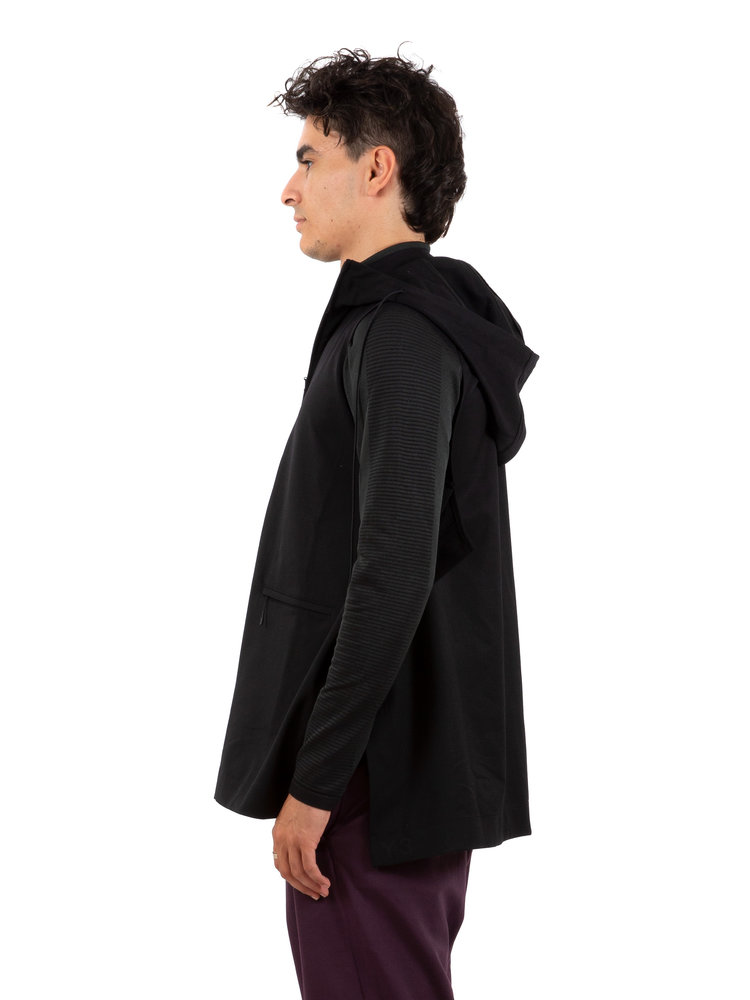 Y-3 Wool Stitched Hooded Vest