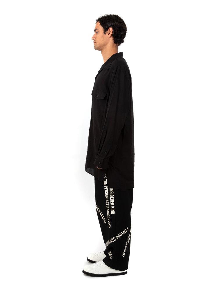 Yohji Yamamoto Flap Button-down Shirt