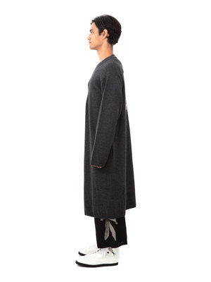 Yohji Yamamoto Floral Long Cardigan