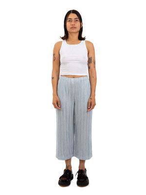 PLEATS PLEASE ISSEY MIYAKE Cotton Pinstripe Trousers