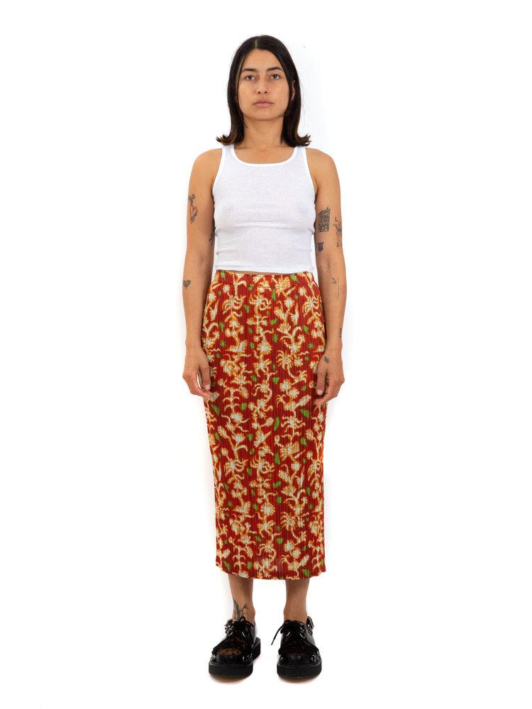 PLEATS PLEASE ISSEY MIYAKE Dreaming Leaves Skirt