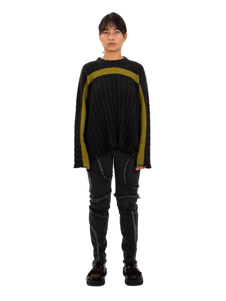 ECKHAUS LATTA Accordion Sweater
