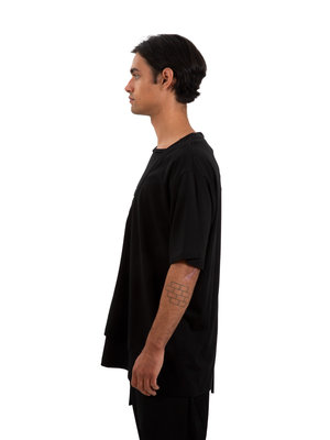 Yohji Yamamoto Layered Short Sleeve Tee