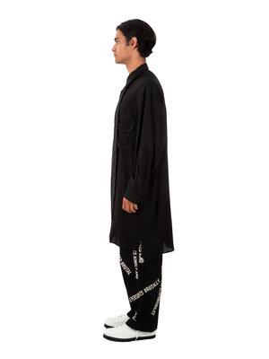 Yohji Yamamoto Long Design Collar Shirt
