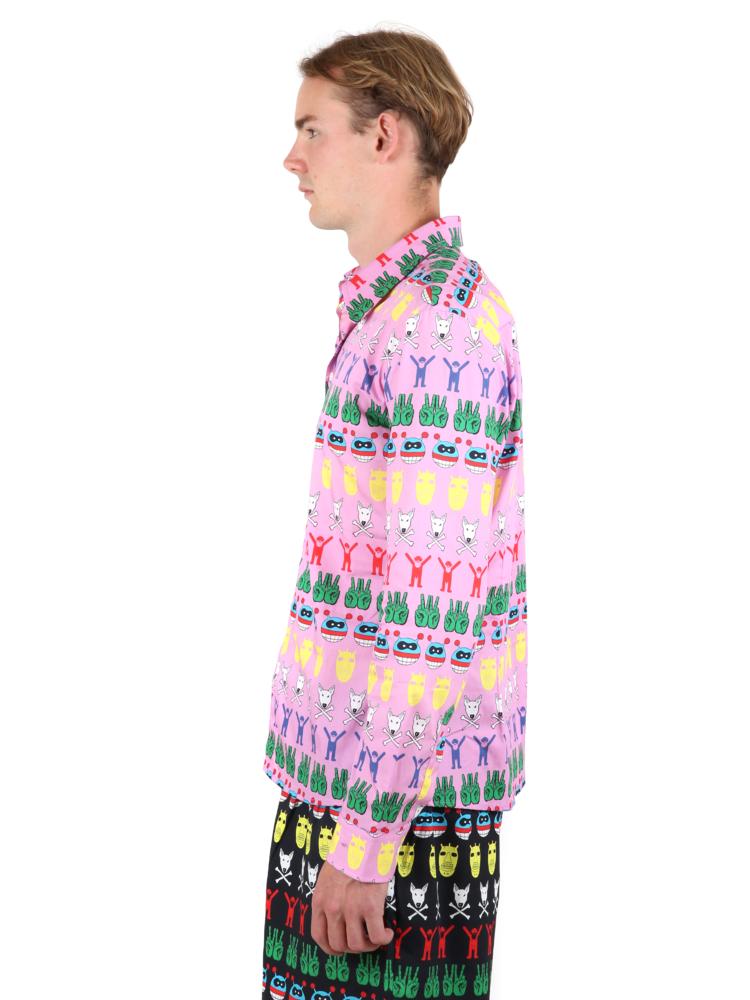 Walter Van Beirendonck Round Collar Shirt