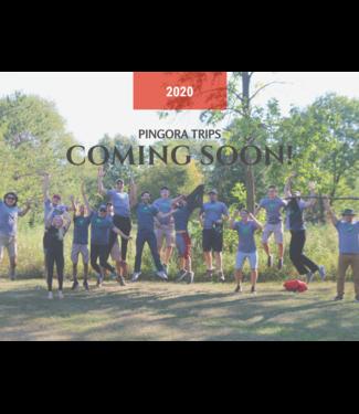 Pingora Trips 2020 Trips Coming Soon!