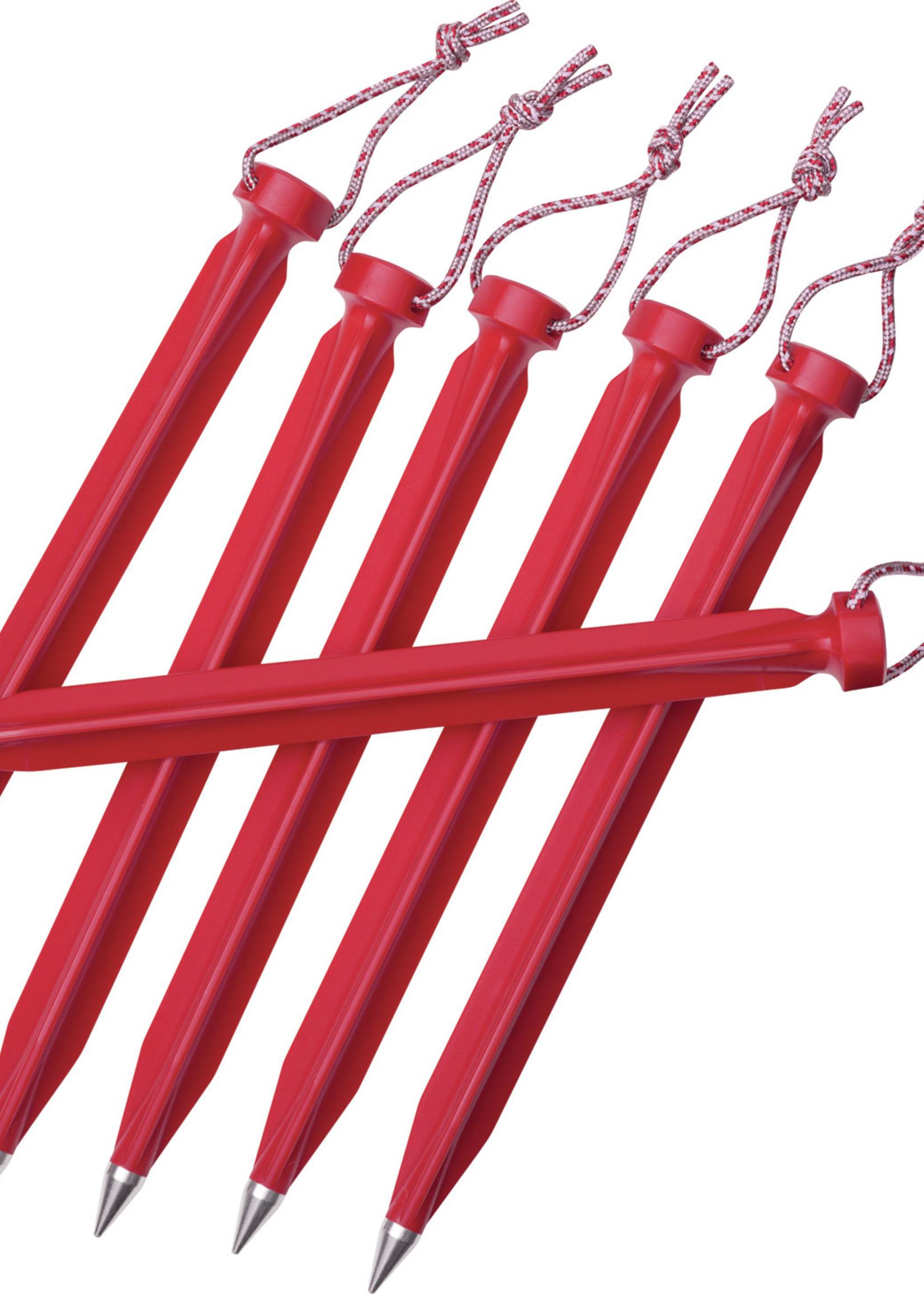 MSR Dart Stake Kit Red 6 inch kit