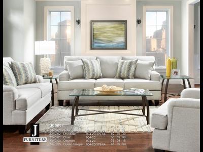 J Furniture Jupiter Farmhouse Sofa