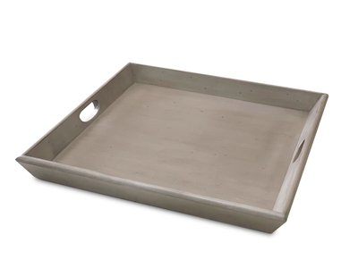 Sunny Designs Westwood Taupe Ottoman Tray