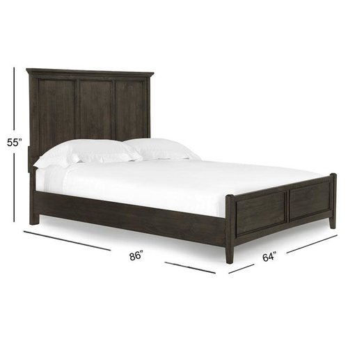 Magnussen Home Mill River Queen Panel Bed