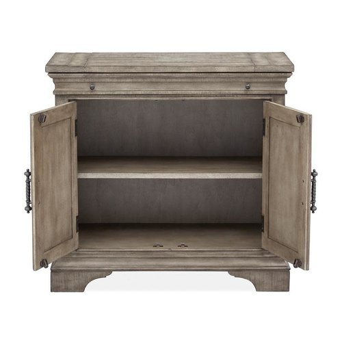 Magnussen Home Milford Creek Wood Bachelor Chest