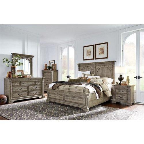 Magnussen Home Milford Creek King Panel Bed