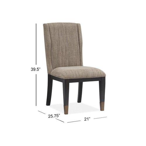 Magnussen Home Ryker Wood Uph Host Chair