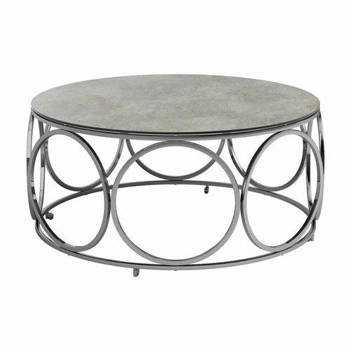 Coaster Chrome Coffee Table