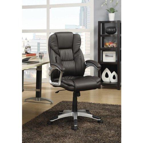 Coaster Dark Brown Office Chair