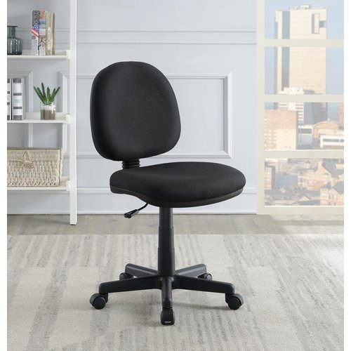 Coaster Casual Black Office Chair