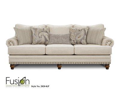 Fusion Furniture KP Carys Doe Sofa