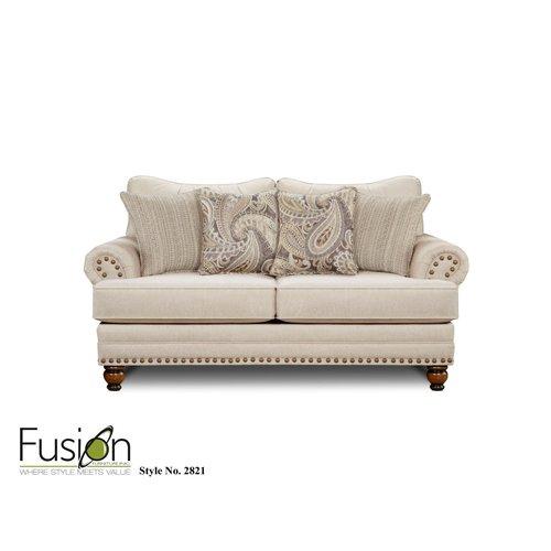 Fusion Furniture KP Carys Doe Loveseat