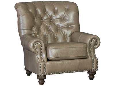 Mayo Furniture Mayo 9310 Tufted Back Chair (Navy)