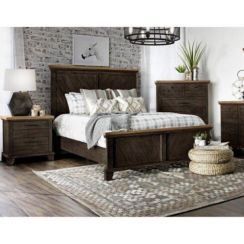Steve Silver Co. Bear Creek Bedroom Brown Queen Bed