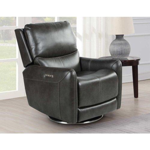 Steve Silver Co. Athens Triple-Power 360-Degree Swivel Motion Chair