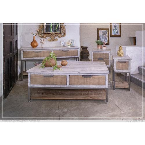 IFD Mita 2 Drawer Sofa Table