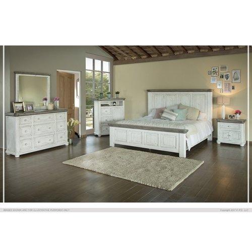 IFD Luna King Bed
