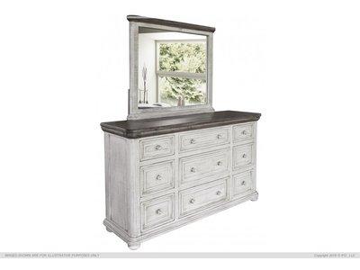 IFD Luna 9 Drawer Dresser