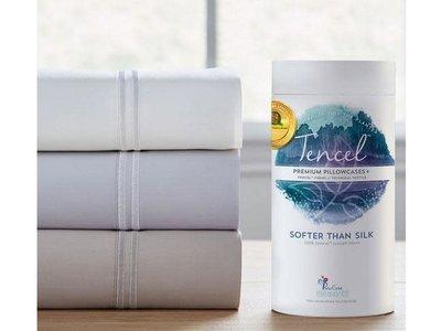 PureCare Tencel Queen Sheets (White)