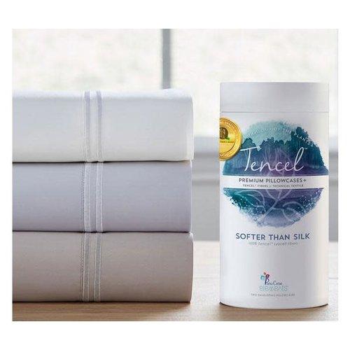 PureCare Tencel Queen Sheets (Dove Gray)