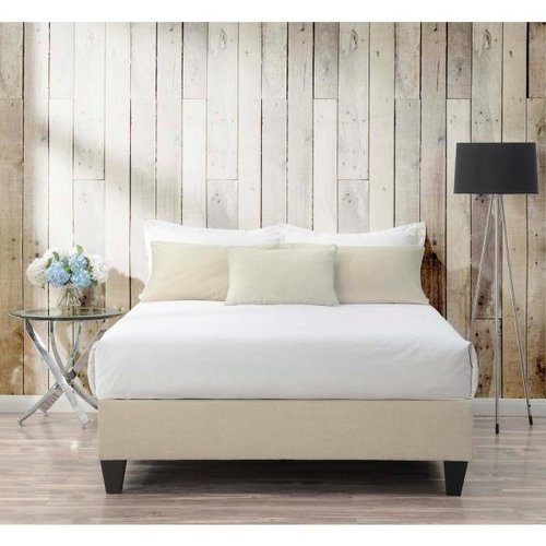 Elements Abby Queen Natural Heirloom (Fabric) Platform Bed