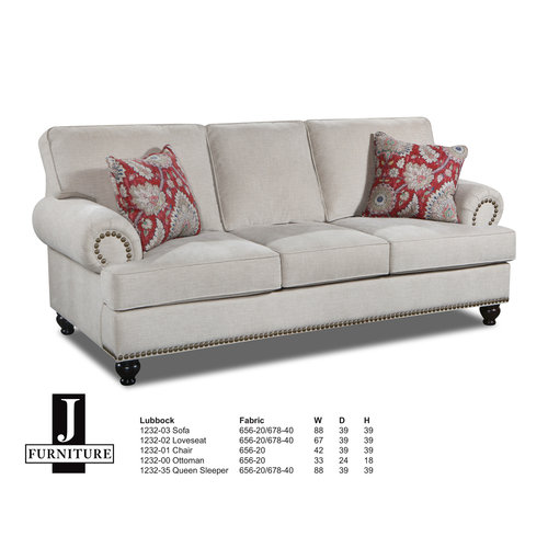 J Furniture Lubbock Loveseat