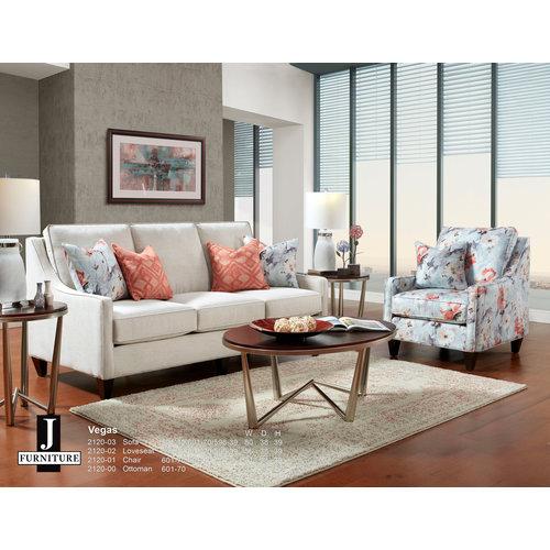 J Furniture Vegas Loveseat