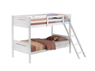 Coaster Littleton Twin/Twin Bunk Bed White