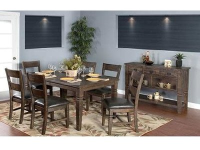 Sunny Designs Homestead Dining Table with Leaf