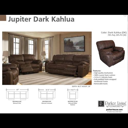 Parker House Jupiter Dark Khalua Manual