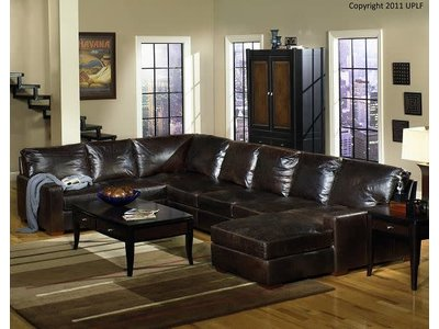 USA LEATHER 9946 4PC Sectional