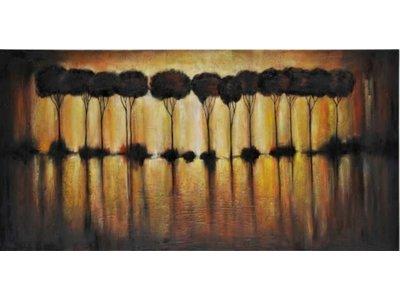 Surya Abstract Tree Wall Art