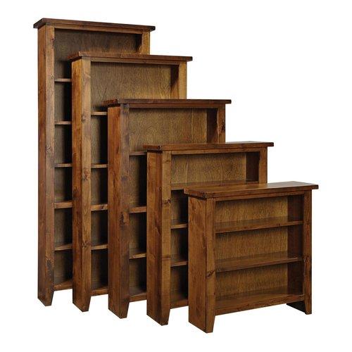 "AspenHome Alder Grove 36"" Fruitwood Bookcase"