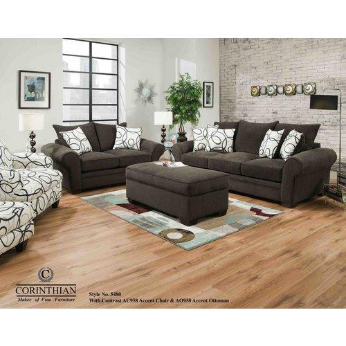 Corinthian Seneca Marble Sofa