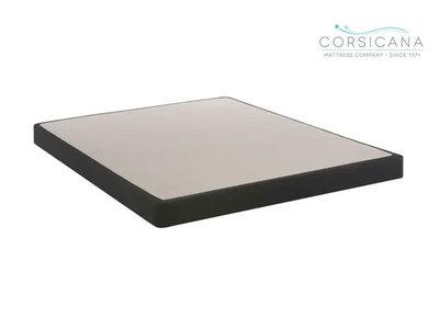 Sleeptronic Universal Smooth Black Low Profile Box Spring Queen