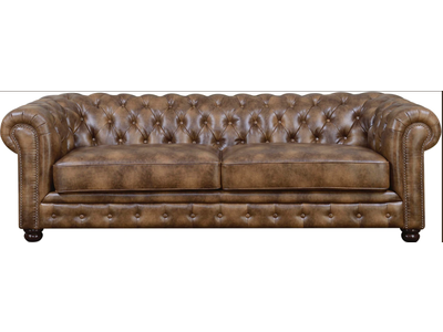 Elements Florence Sofa (Light Brown)