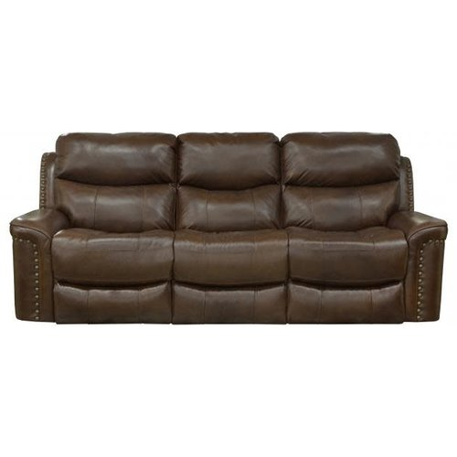 PFC Ceretti Leather Power Motion Sofa