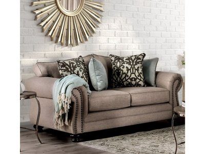 Furniture of America Jarauld Loveseat