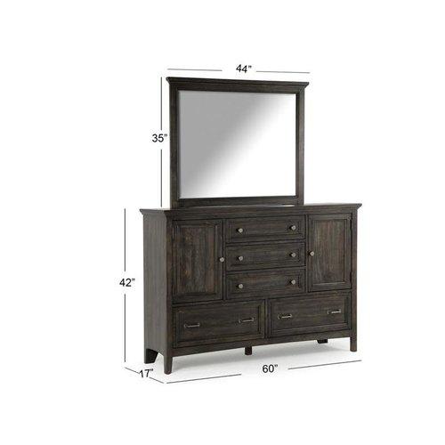 Magnussen Home Mill River Wood Drawer Dresser