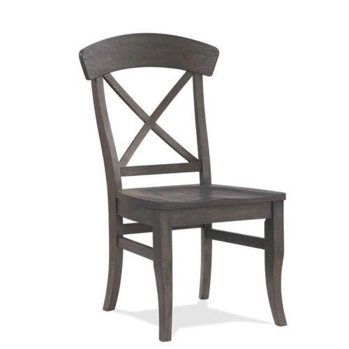 Riverside Furniture Harper X-Back Side Chair